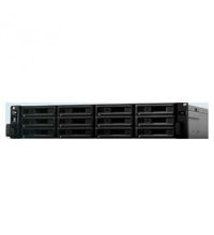 NAS SYNOLOGY SA3400 12 BAHIAS/8 NUCLEOS 2.1 BASE 2.7TURBO GHZ/16GB DDR4 ECC RDIMM/LANGIGABITX4 Y LAN