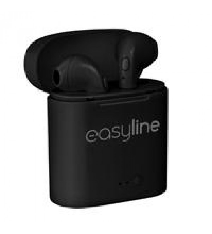 AUDIFONOS INALAMBRICOS EASY LINE BY PERFECT CHOICE VIVA BUNDS TWS NEGROS