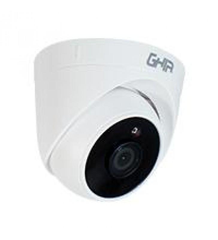 CAMARA GHIA TIPO DOMO 1080P 4 EN 1 AHD/TVI/CVI/CVBS/ 2MP/LENTE DE 3.6MM/ IR 25MTS USO INTERIOR