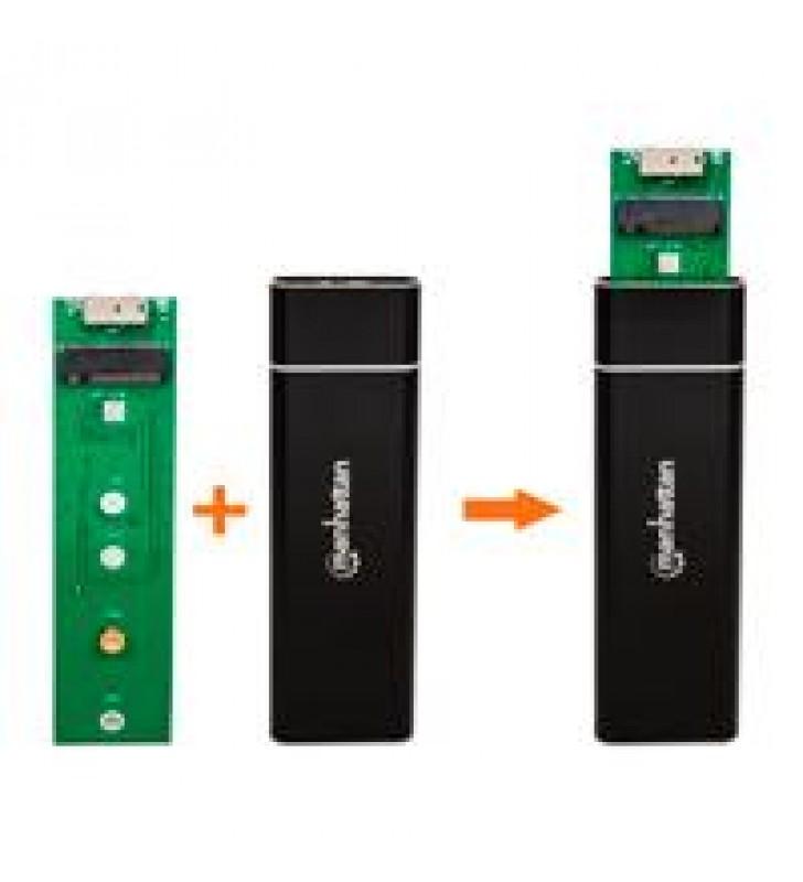 GABINETE SDD M.2MANHATTAN USB V3.0 NEGRO