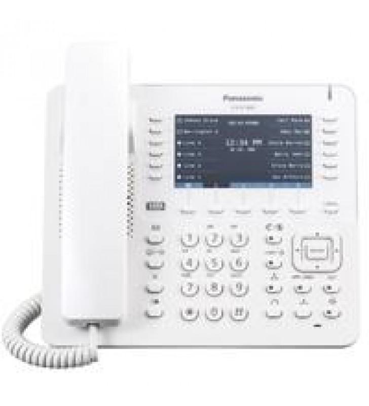 TELEFONO IP PROPIETARIO 12X4 BOTONES CO FLEXIBLES 2 PUERTOS ETHERNET GB POE. COMPATIBLE COMPATIBLE C
