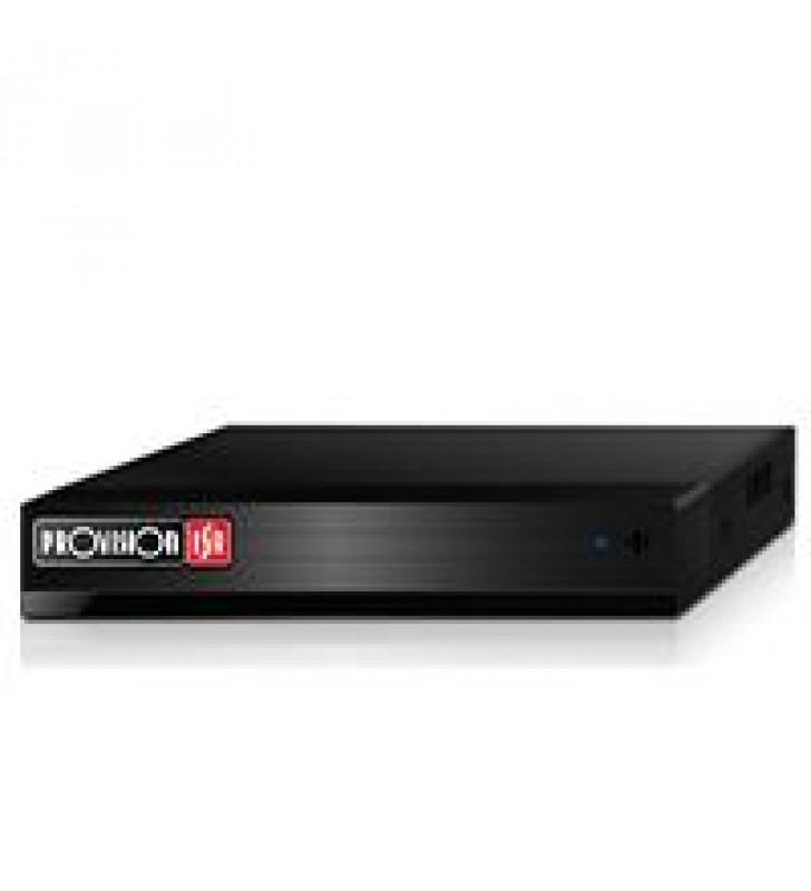 DVR PROVISION ISR 8 CH + 4 CH IP 5 MP LITE SALIDA HDMI (AHD / CVI / TVI / CVBS + IP) H.265 HIBRIDO C