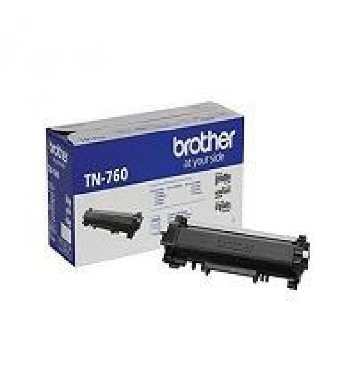 TONER BROTHER TN760 MONOCROMATICO RENDIMIENTO ALTO DE 3000 PARA EQUIPO DCPL2551DW
