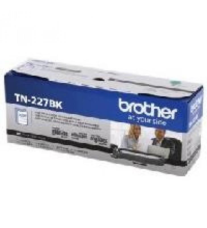 TONER BROTHER TN227BK NEGRO COMPATIBLE CON MFCL3710CW ALTO RENDIMIENTO HASTA 3000 PAGINAS