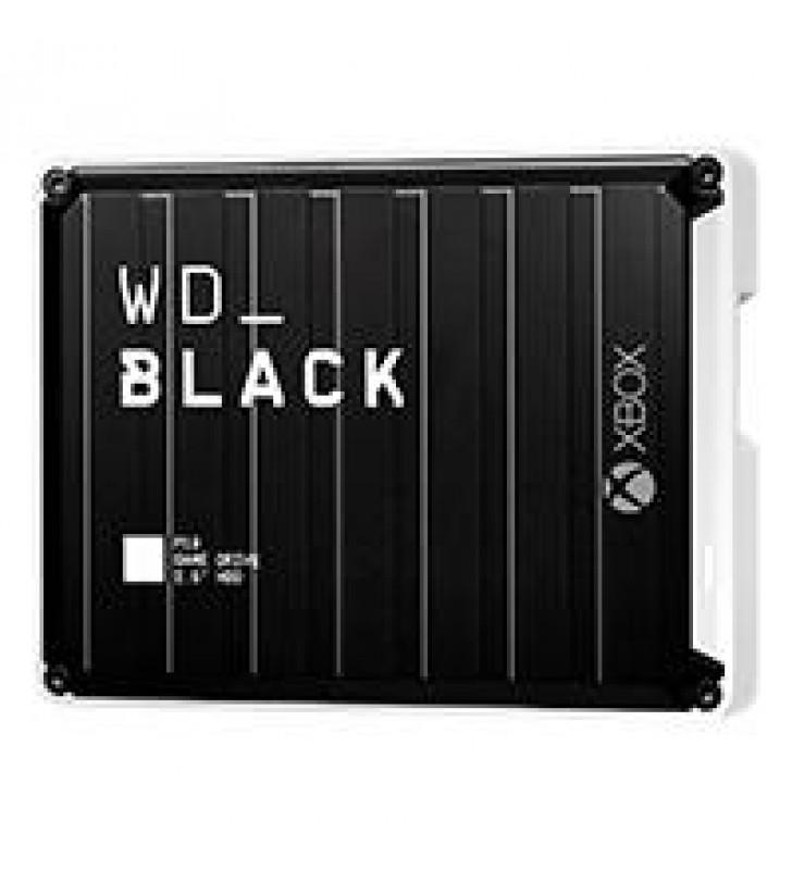 DD EXTERNO PORTATIL 5TB WD BLACK P10 GAME DRIVE XBOX ONE NEGRO USB 3.2 GEN1