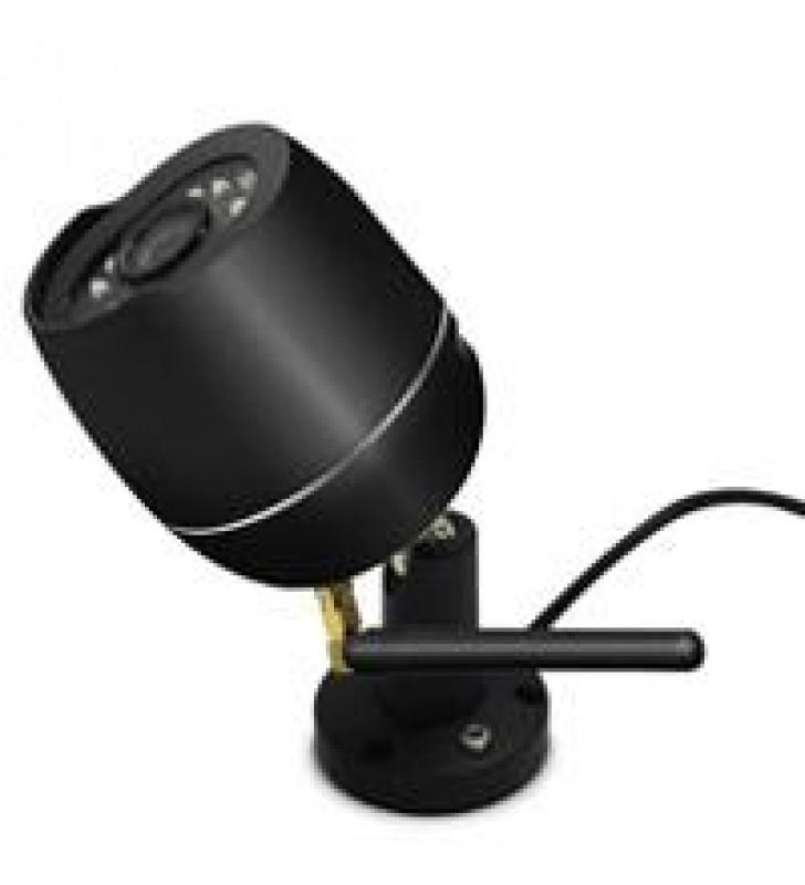 CAMARA EXTERIOR HD 1080P WIFI COLOR NEGRO SMART LIFE IOT BY TECHZONE
