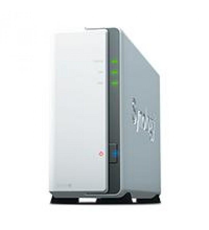 NAS SYNOLOGY DS120J 1 BAHIA DOBLE NUCLEO 800 MHZ 512 MB DDR3L /LAN GIGABIT X1 /USB 2.0 X 2/HASTA 16
