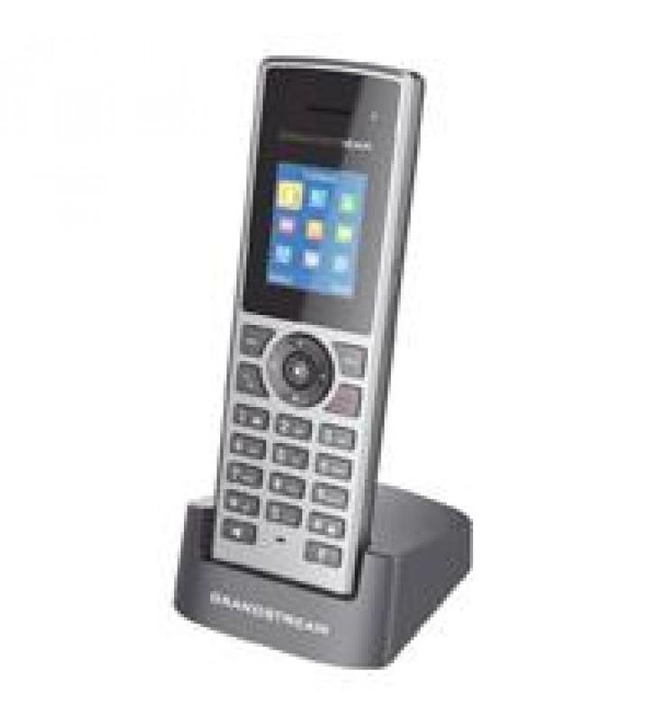 TELEFONO INALAMBRICO DECT PARA ESTACION BASE 10 CUENTAS SIP AUDIO HD PANTALLA A COLOR 1.8ALTA VOZ BO