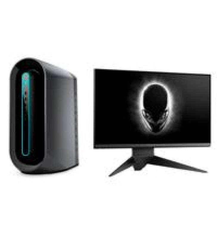 ALIENWARE AURORA R9 GAMING DELL (+MONITOR 25 AW2521HF) CORE I7-9700K UP 4.6GHZ ALL 8 CORES OC / 32GB