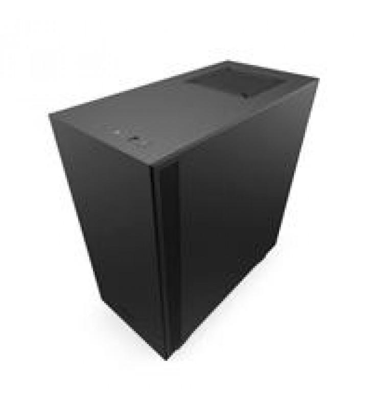 GABINETE NZXT H510 COMPACT NEGRO-MATE MEDIA TORRE MINI ITX MICRO ATX ATX CRISTAL TEMPLADO GAMER