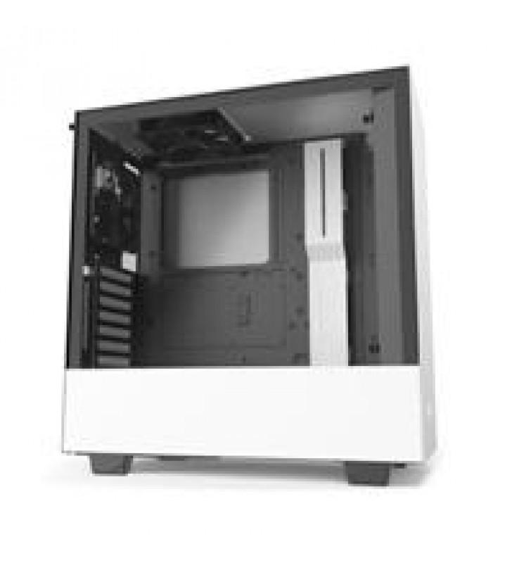 GABINETE NZXT H510I COMPACT BLANCO-MATE MEDIA TORRE MINI ITX MICRO ATX ATX CRISTAL TEMPLADO RGB GAME