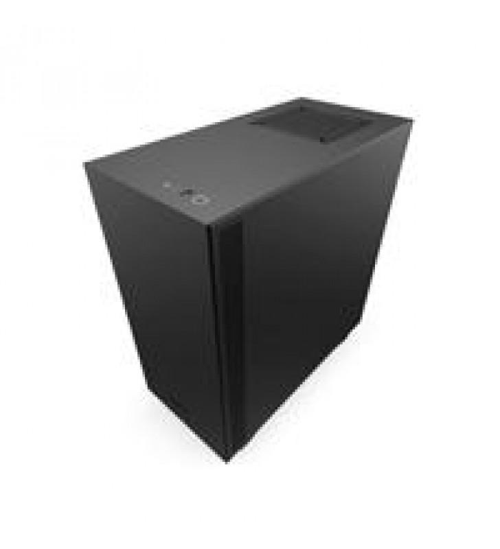GABINETE NZXT H510I COMPACT NEGRO-MATE MEDIA TORRE MINI ITX MICRO ATX ATX CRISTAL TEMPLADO RGB GAMER