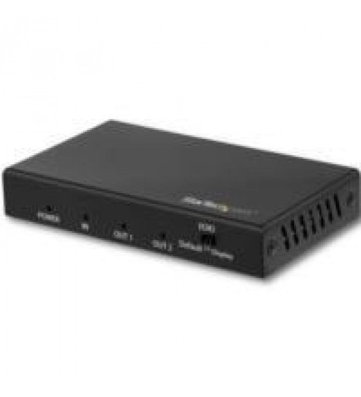 SPLITTER HDMI DE 2 PUERTOS HDR 4K 60HZ - DIVISOR HDMI 1 ENTRADA 2 SALIDAS - SPLITTER HDMI 2 SALIDAS