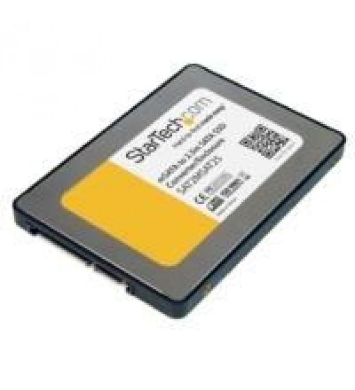 GABINETE ADAPTADOR SATA DE 2.5 PULGADAS PARA UNIDAD DE ESTADO SoLIDO SSD MSATA - STARTECH.COM MOD. S