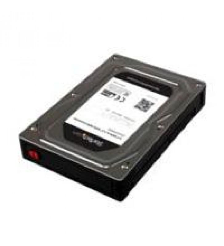 GABINETE ADAPTADOR DE DISCO DURO O SSD SATA DE 2.5 DE HASTA 12.5MM DE ALTURA PARA BAHiA DE 3.5 - STA