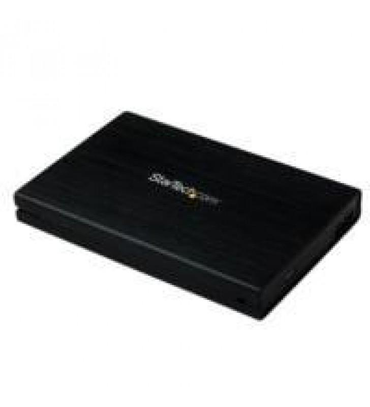 GABINETE CARCASA DE ALUMINIO USB 3.0 DE DISCO DURO HDD SATA III 6GBPS DE 2.5 PULGADAS EXTERNO CON UA
