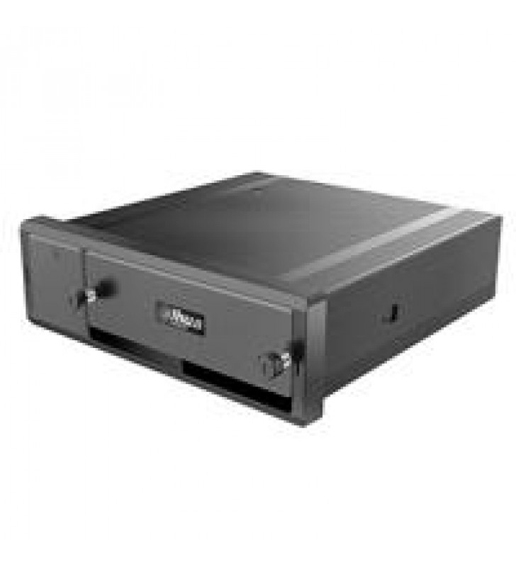 DAHUA  - DVR MOVIL 4 CANALES HDCVI 1080P + 4 CANALES IP / H.265 / GPS / 3G / WIFI / 1 HDD 2.5 PULGAD