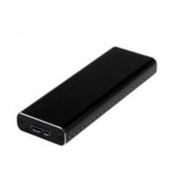 ADAPTADOR SSD M.2 A USB 3.0 SUPERSPEED UASP CON GABINETE PROTECTOR - CONVERTIDOR NGFF DE UNIDAD SSD