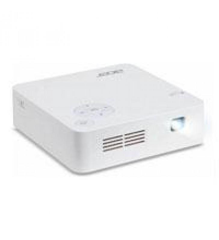VIDEOPROYECTOR ACER PORTATIL C202I / LED /  1920 X 1200 MAX / 854 X 480 NAT / 300 LUMENES / BOCINA 2