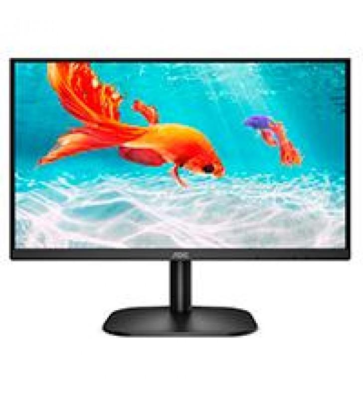 MONITOR LED VA AOC 21.5 / HDMI Y VGA / ASPECTO 16:9 / TIEMPO DE RESPUESTA 6.5 MS / VESA 100X100 MM /