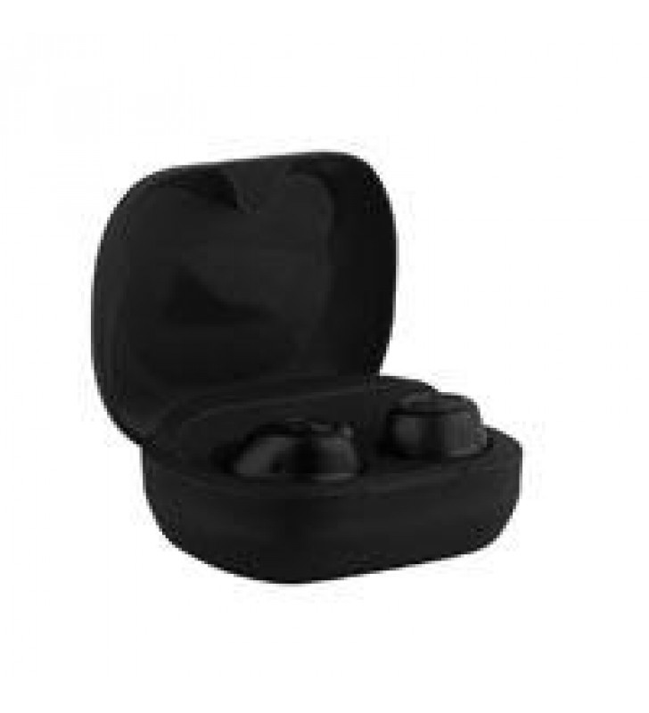 ACTECK AUDIFONOS SX60 IN-EAR BUETOOTH 5.0/TRUE WIRELESS/MICROFONO/3.5 HRS USO CONTINUO NEGRO RAISE A