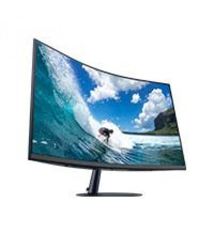 MONITOR LED SAMSUNG 27 WIDESCREEN FULL HD 1080P T550FDLXZX CURVO NEGRO BOCINAS D-SUB HDMI D. PORT 75