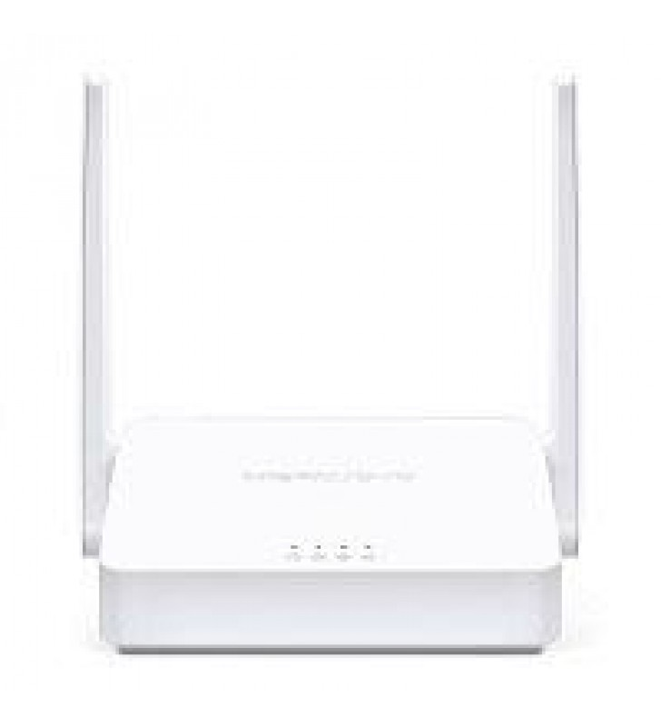 ROUTER INALAMBRICO MERCUSYS MW302R 300MBPS 802.11N/G/B MULTIMODO ACCESS POINT REPETIDOR WISP 2 PUERT