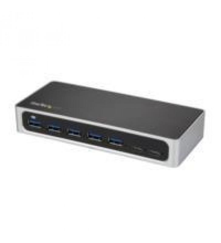 HUB CONCENTRADOR USB 3.0 USB C A 5X USB-A Y 2X USB TIPO C DE 7 PUERTOS - HUB USBC ALIMENTADO - START