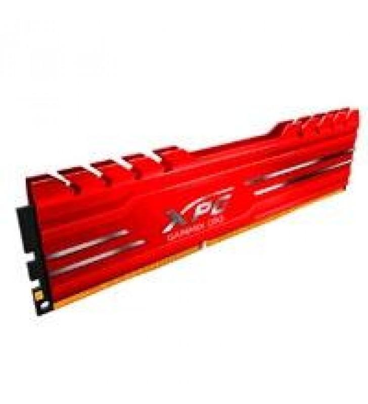 MEMORIA ADATA UDIMM DDR4 16GB PC4-21300 2666MHZ CL18 1.2V XPG GAMMIX D10 ROJO CON DISIPADOR PC/GAMER