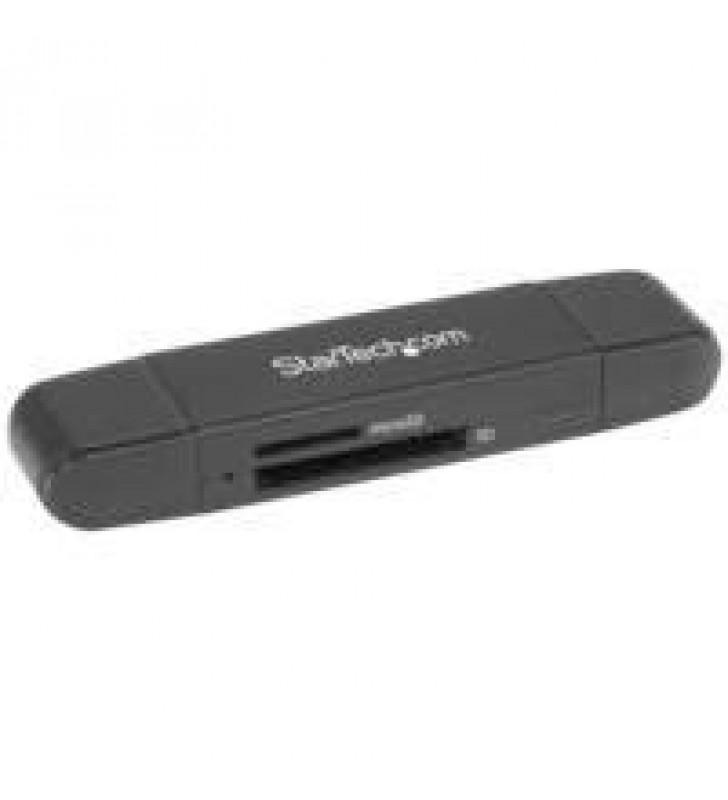 LECTOR GRABADOR USB 3.0 USB-C TIPO C Y USB-A DE TARJETAS DE MEMORIA FLASH SD MICRO SD ALIMENTADO POR