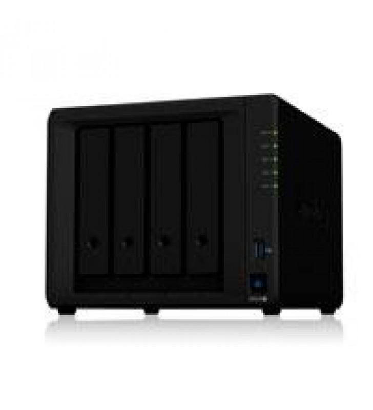 NAS SYNOLOGY DS420+ /4 BAHIAS DOBLE NUCLEO HASTA 2.9 GHZ 2GB DDR4 2 LAN GIGABIT /USB 3.0 X2/HOT-SWAP