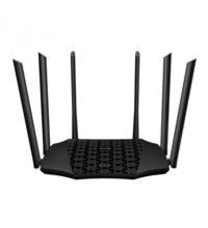 ROUTER AC21 AC2100 802.11 AC/B/G/N DUAL-BAND 6 ANTENAS EXTERNAS MU-MIMO + BEAMFORMING IPV6 IPTV 4 PU