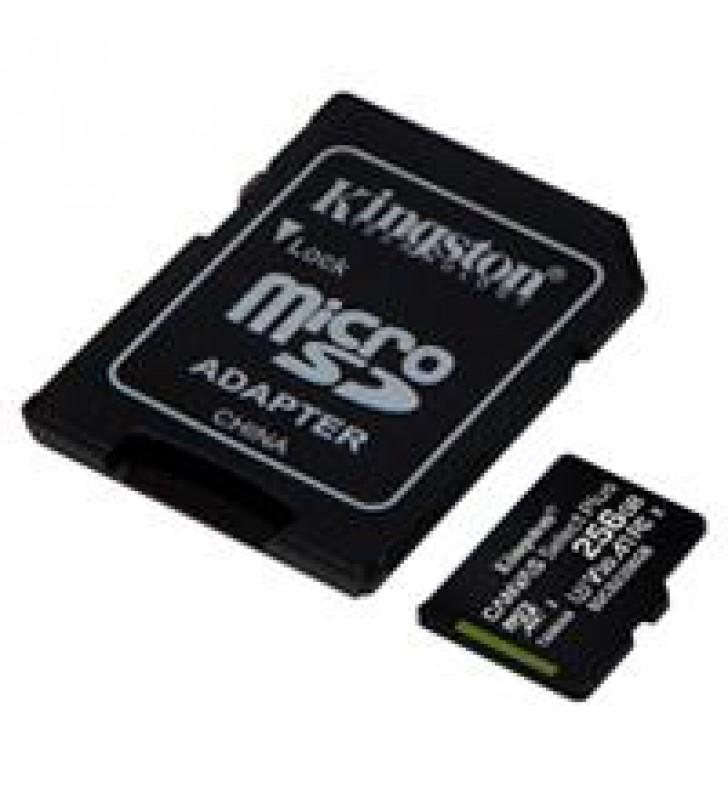 MEMORIA KINGSTON MICRO SD CANVAS SELECT PLUS 256GB UHS-I CLASE 10 C/ADAPTADOR
