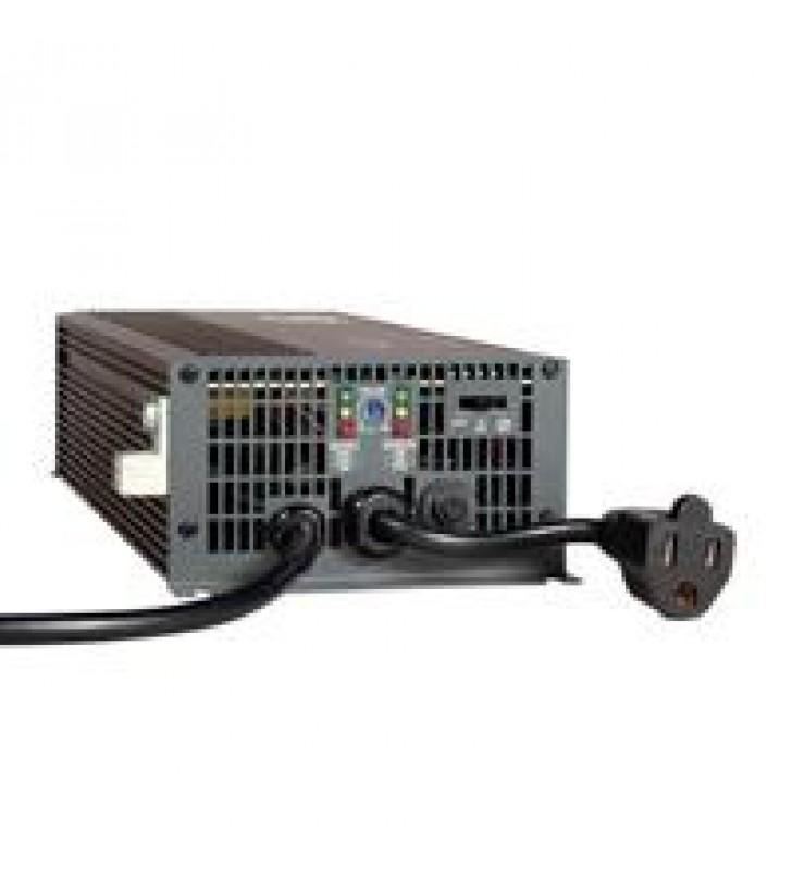 INVERSOR / CARGADOR 700W POWERVERTER APS 12VDC 120V CON CONMUTACIoN DE TRANSFERENCIA AUTOMaTICA 1 TO