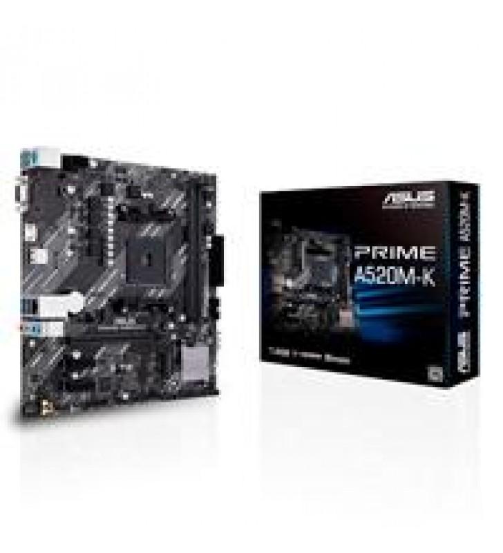 MB ASUS A520 AMD S-AM4 3A GEN/2X DDR4 2800//VGA/HDMI/M.2/4X USB3.2/MICRO ATX/GAMA BASICA
