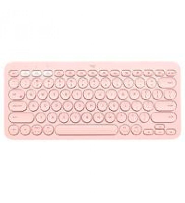 TECLADO LOGITECH K380 ROSE INALAMBRICO BLUETOOTH MULTIPLATAFORMA PC/TABLET/SMARTPHONE