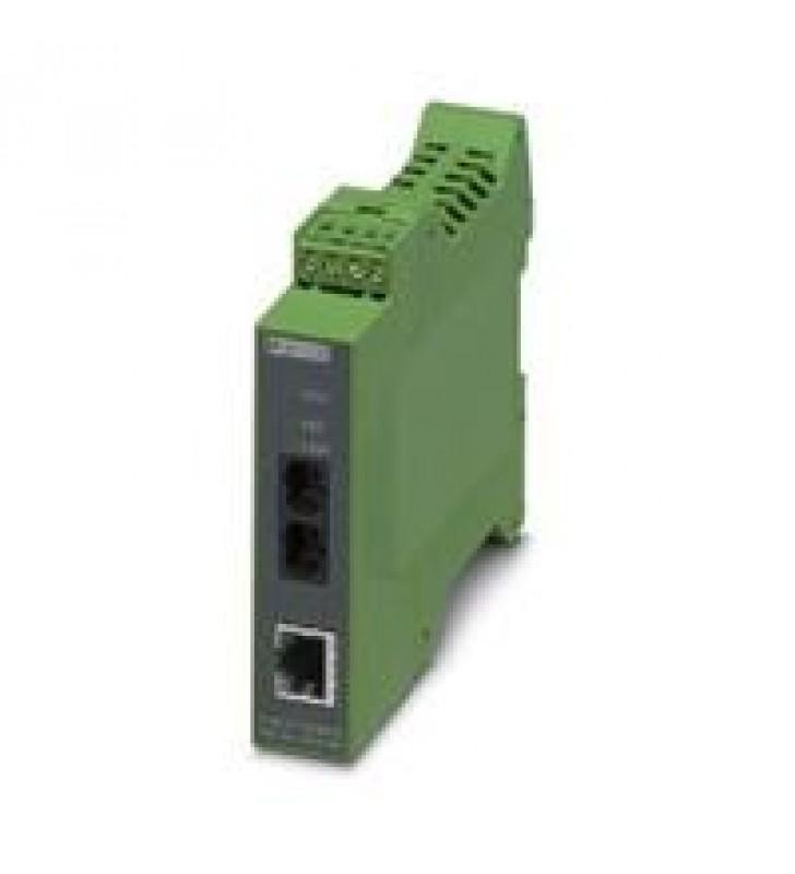 CONVERTIDOR DE FIBRA OPTICA- PHOENIX CONTACT - FL MC EF 1300 MM SC