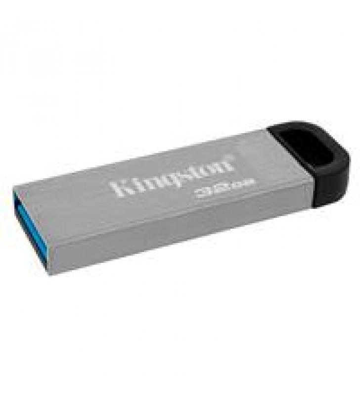 MEMORIA KINGSTON 32GB USB 3.2 ALTA VELOCIDAD / DATATRAVELER KYSON METALICA