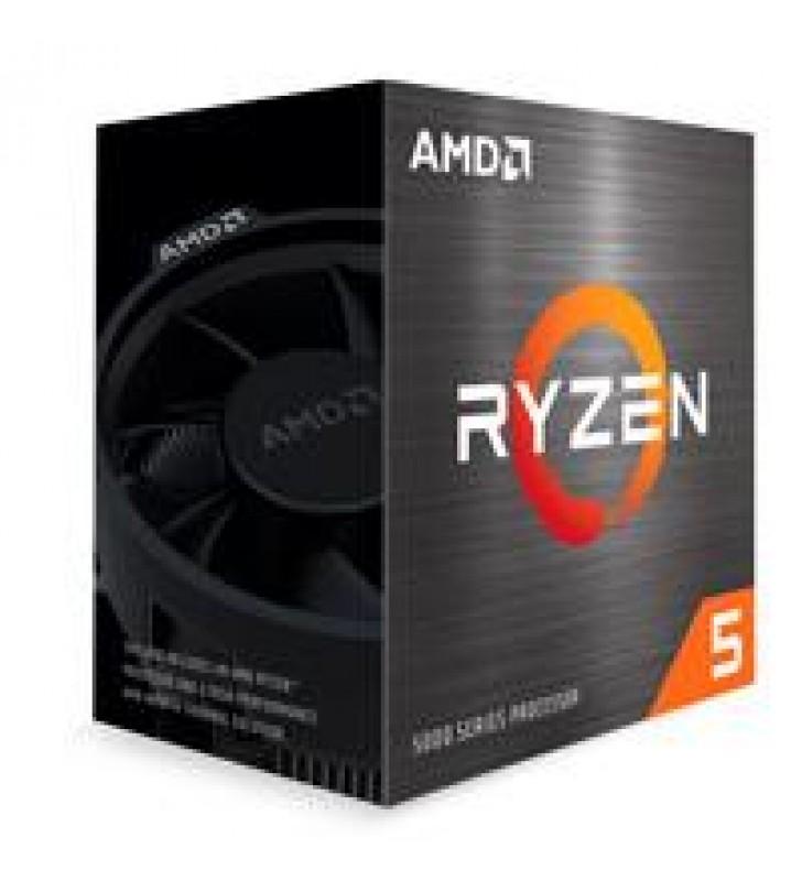 PROCESADOR AMD RYZEN 5 5600X S-AM4 5A GEN. 65W 3.7GHZ TURBO 4.6GHZ 6 NUCLEOS/SIN GRAFICOS INTEGRADOS