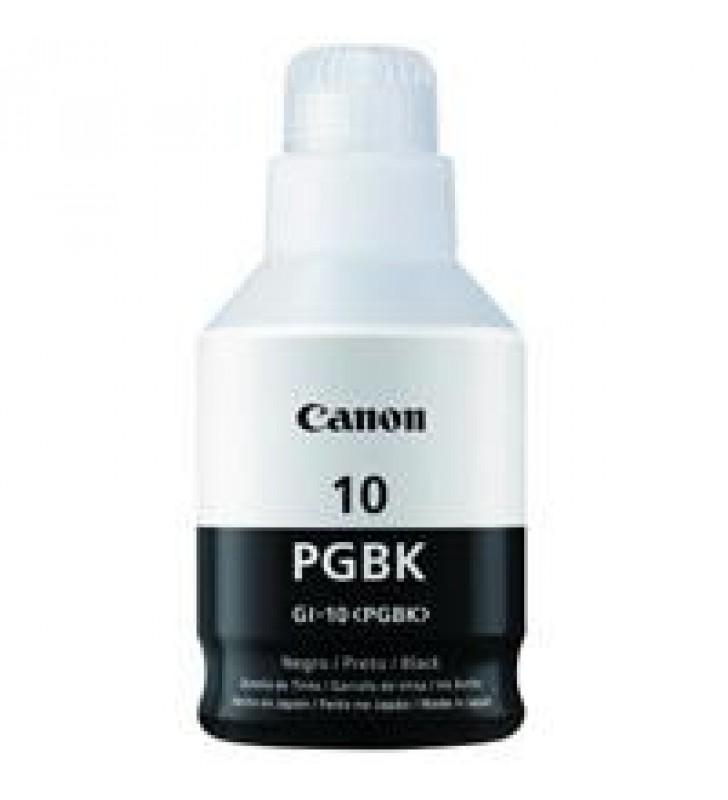 BOTELLA DE TINTA CANON GI-10 PGBK NEGRA 170 ML COMPATIBLE GM2010/GM4010/G5010/G6010/G7010