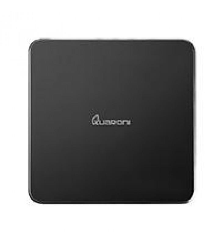 TV BOX QUARONI QUAD CORE/1GB/8GB/LAN/WIFI/HDMI/AV/CR/SPDIF/ANDROID 6.0/NEGRO
