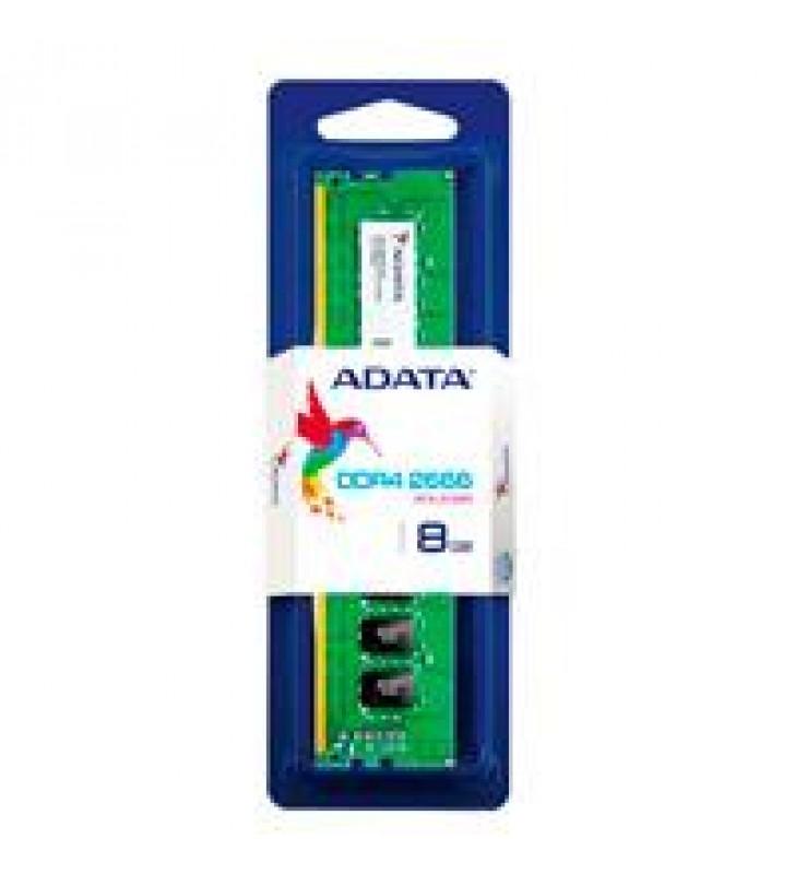 MEMORIA ADATA UDIMM DDR4 8GB PC4-21300 2666MHZ CL19 288PIN 1.2V PC