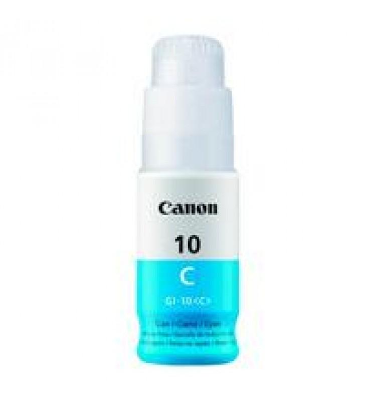 BOTELLA DE TINTA CANON GI-10 CYAN 70 ML COMPATIBLE CON  G5010/G6010/G7010