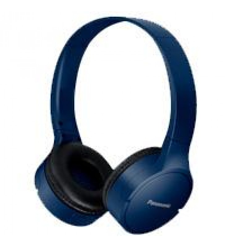 AUDIFONOS BLUETOOTH TIPO DIADEMA (ON-EAR) PANASONICRB-HF420BPUA COLOR AZUL FUNCION MANOS LIBRES/MICR