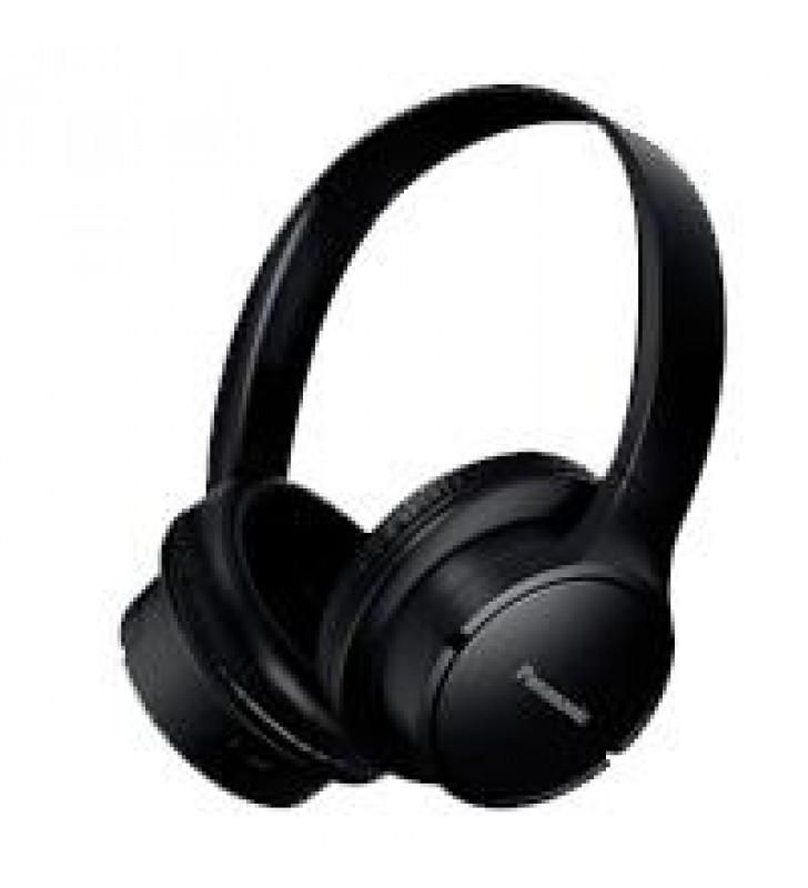 AUDIFONOS BLUETOOTH TIPO DIADEMA (ON-EAR) PANASONIC RB-HF520BPUK COLOR NEGRO FUNCION MANOS LIBRES/MI