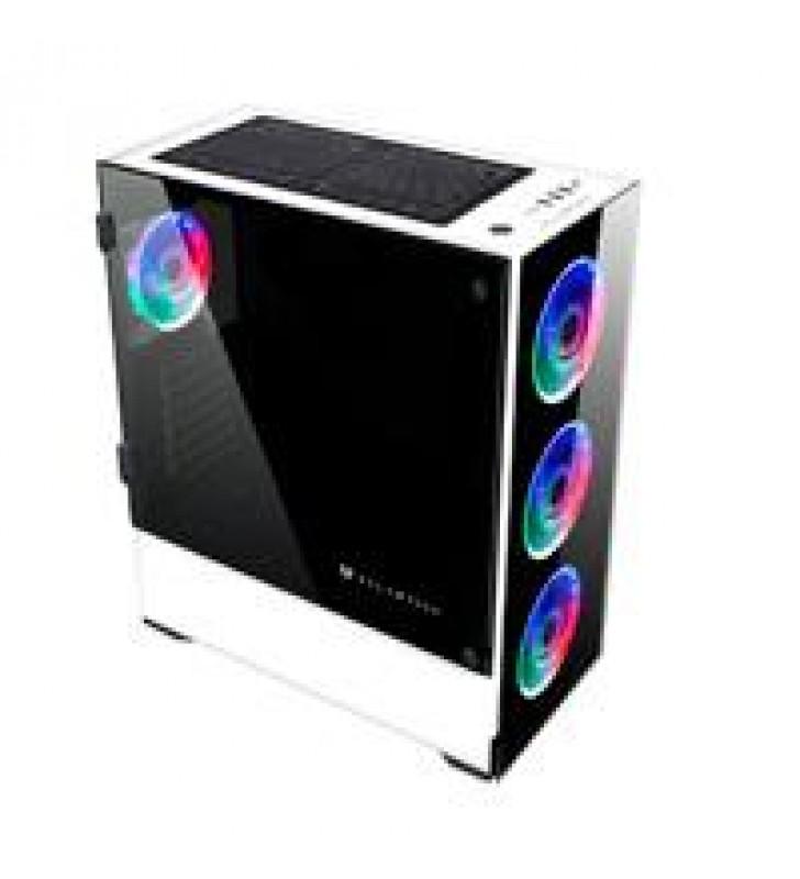 GABINETE GAMER BALAM RUSH-S-ACTECK/ E-ATX/ATX/MICRO ATX/MINI ITX/4 VENTILADORES ARGB/ USB 3.0/CRISTA