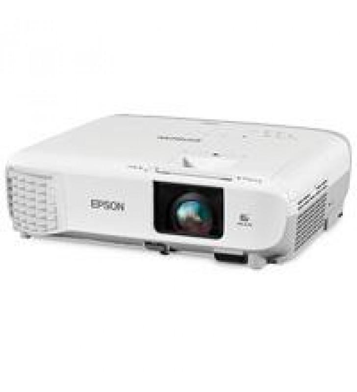VIDEOPROYECTOR EPSON POWERLITE 119W 3LCD WXGA 4000 LUMENES HDMI RED (WIFI OPCIONAL)