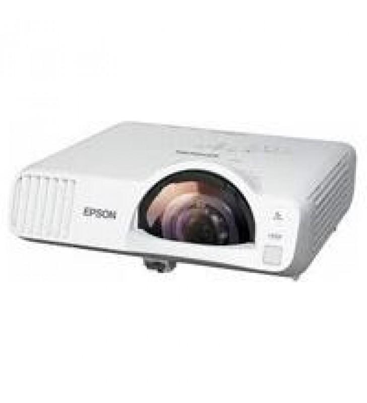 VIDEOPROYECTOR EPSON POWERLITE EB-L200SW 3LCD WXGA 3800 LUMENES RED USB HDMI LASER (WIFI OPCIONAL)