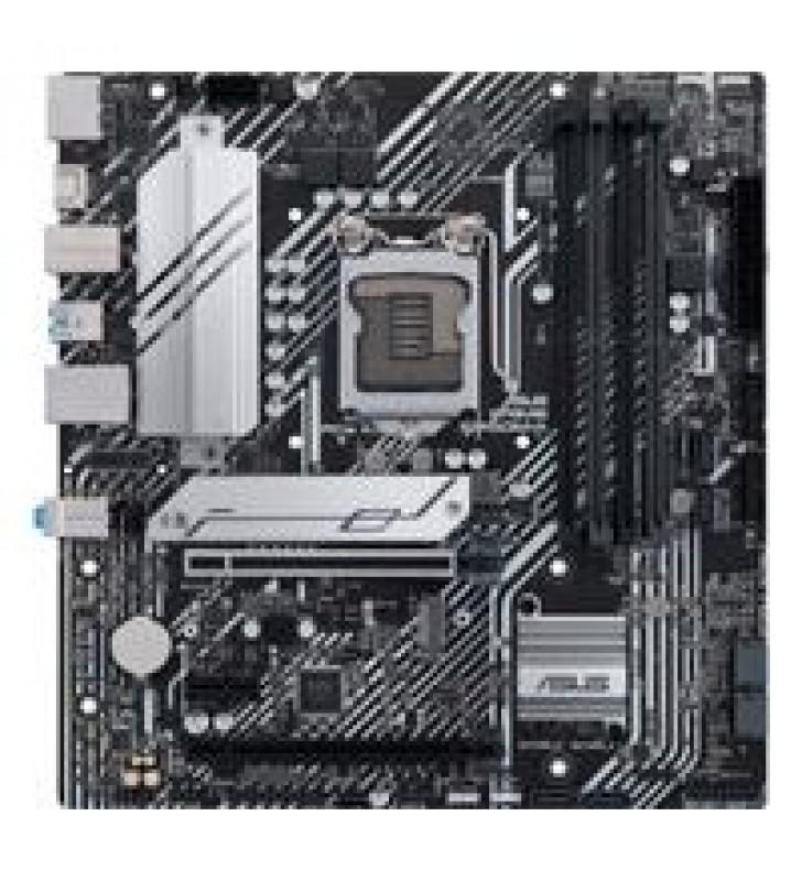 MB ASUS B560 INTEL S-1200 11A GEN/4X DDR4 2666/DP/2X HDMI/M.2/4X USB 3.2/USB-C/MICRO ATX/GAMA MEDIA/