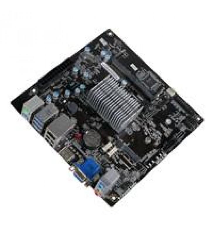 MB ECS CPU INTEGRADO INTEL N4000 /1X SODIMM DDR4 2133/VGA/HDMI/6XUSB /MINI ITX/GAMA BASICA